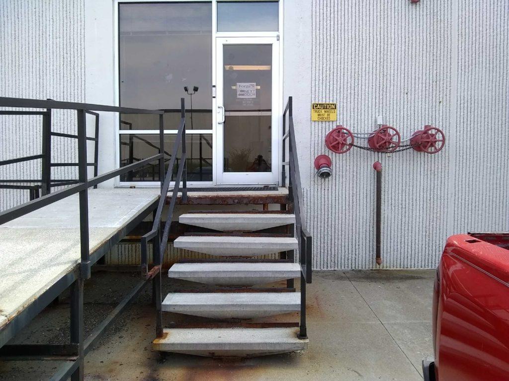 Custom Steel Precast Steps & Stairs